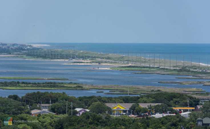 View of Haulover from Cape Hatteras Lighthouse