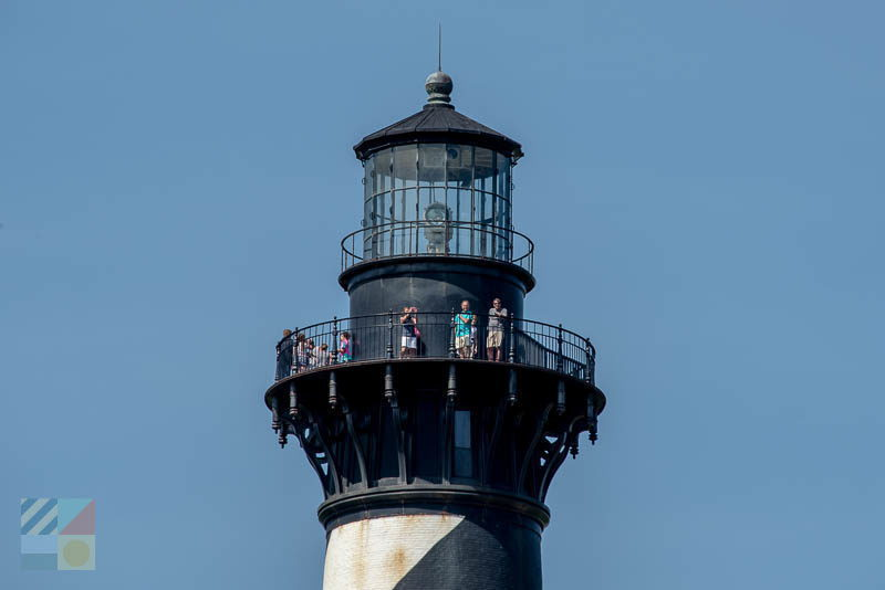 Cape Hatteras Lighthouse climbers