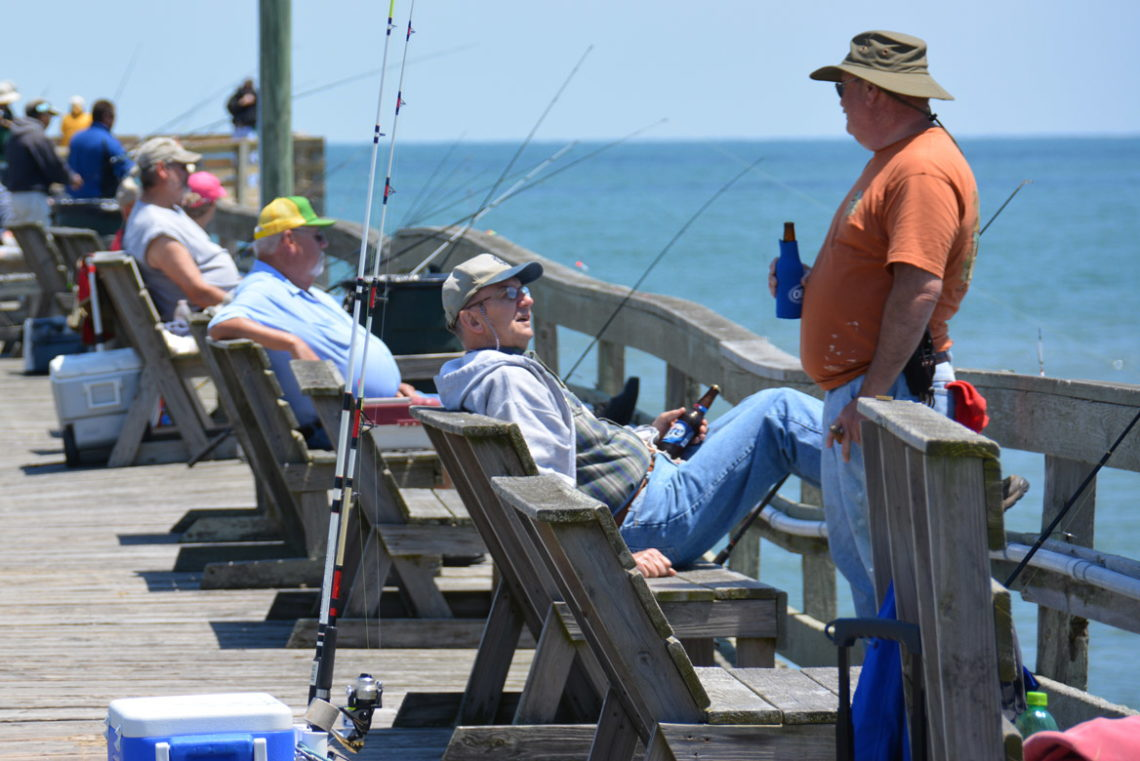 Fishing in nags head nc nags for Can you buy a fishing license at walmart